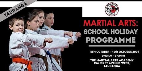 Martial Arts: School Holiday Programme - Tauranga tickets