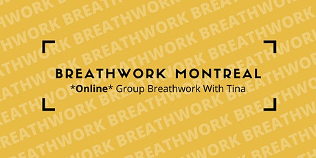 Online Group Breathwork With Tina tickets