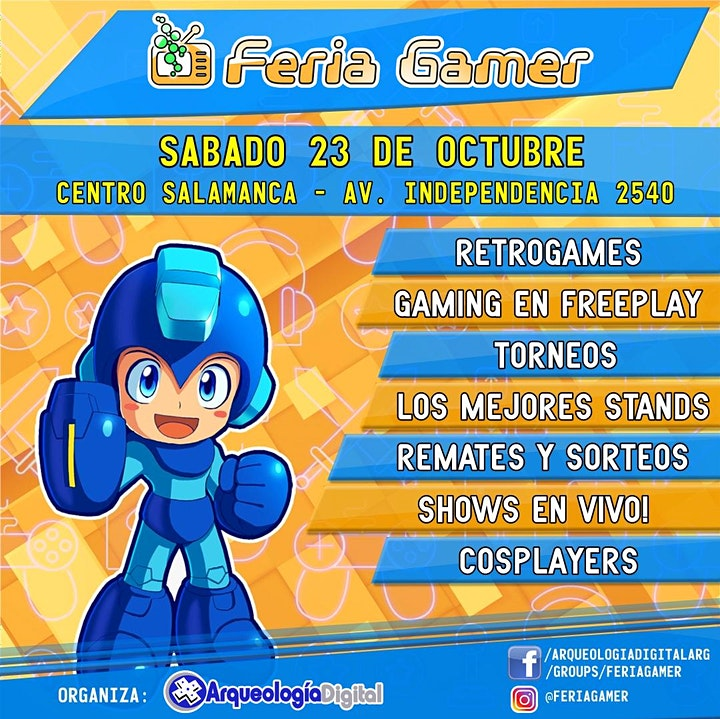 Imagen de Feria Gamer! / Evento Video Juegos! Vuelve la magia!
