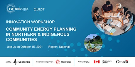 Community Energy Planning in Northern and Indigenous Communities tickets