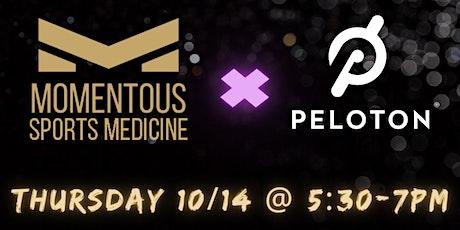 Momentous Sports Medicine Bethesda & Peloton Open House tickets