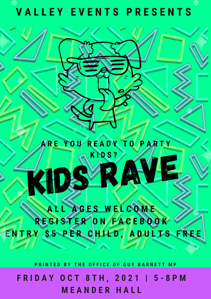 Kids Rave @ Meander Hall image