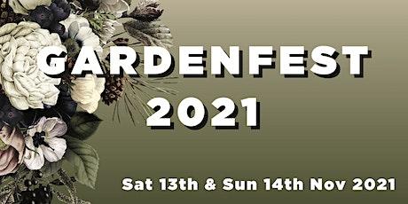 Gardenfest 2021 tickets