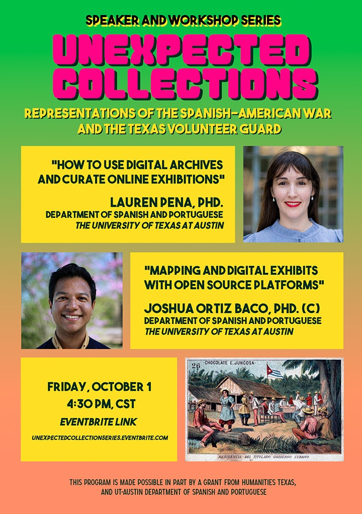 Unexpected Collections: Digital Humanities Series image