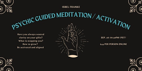 Psychic Activation / Guided Meditation tickets