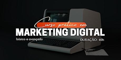 Curso Prático em Marketing Digital bilhetes