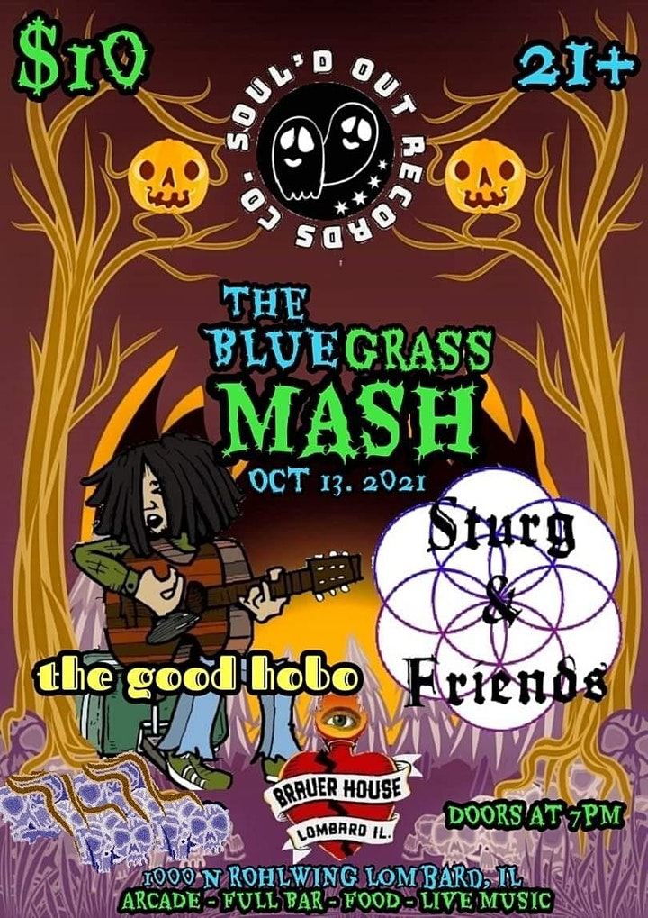 The Bluegrass Mash with The Good Hobo • Sturg & Friends image