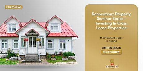 Ronovationz seminar series- Investing in cross lease properties. tickets