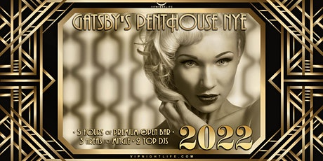 Los Angeles New Year's Eve Party 2022 - Gatsby's Penthouse tickets