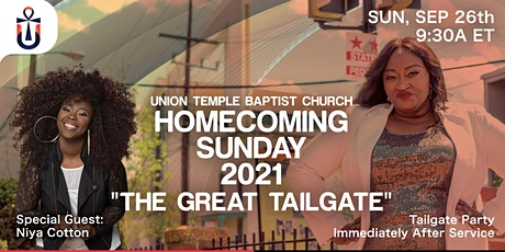 """UTBC Homecoming """"The Great Tailgate"""" tickets"""