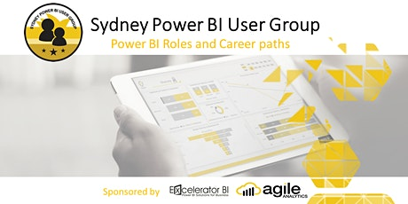 Sydney Power BI User Group - Power BI Roles and Career Paths (ONLINE EVENT) tickets