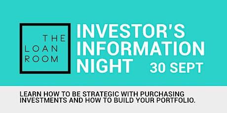 Investor's Information Night tickets