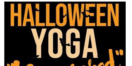 """Halloween """"Uncensored""""  Yoga tickets"""