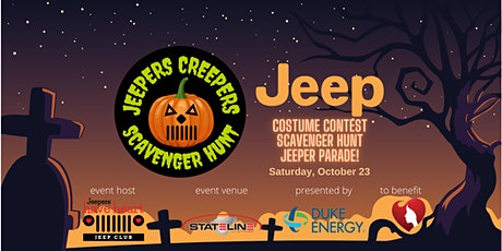 Jeepers Creepers Scavenger Hunt tickets