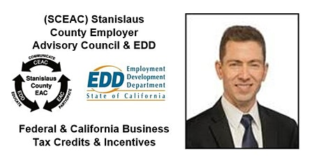 Federal & California Business Tax Credits & Incentives tickets