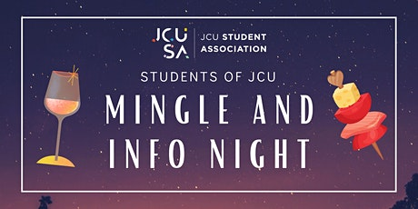 Students of JCU Mingle and Info night tickets