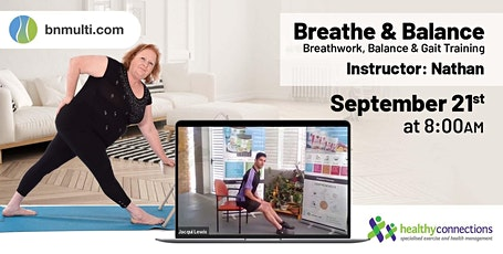 Breathe & Balance - Free Online Exercise Class tickets
