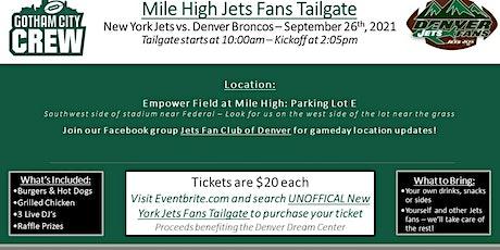 Unoffical New York Jets Fan Tailgate tickets