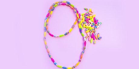 Get Crafty - Adult Paper Jewellery Workshop online via ZOOM tickets