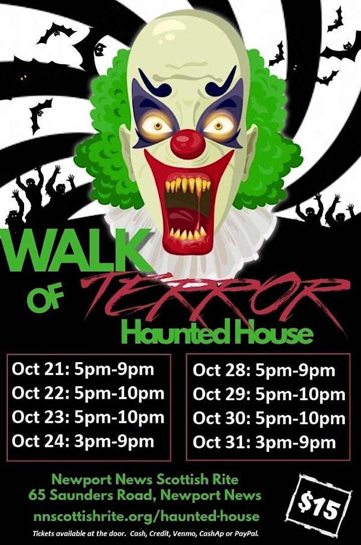 Haunted House: Walk of Terror image