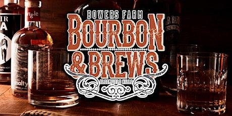 BOURBON & BREWS FESTIVAL  at Bowers Farm tickets