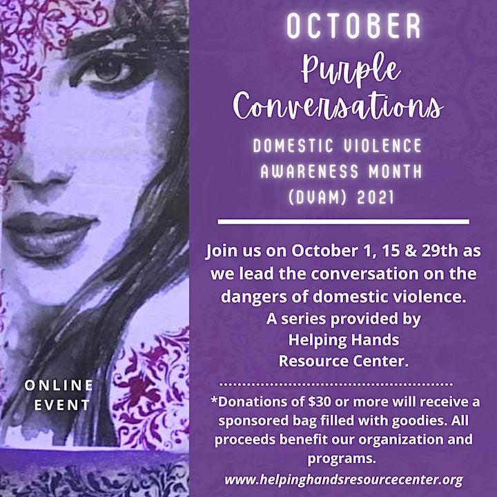 The Purple Conversations image