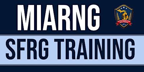 SFRG Command Family Readiness Representative (CFRR) Training tickets