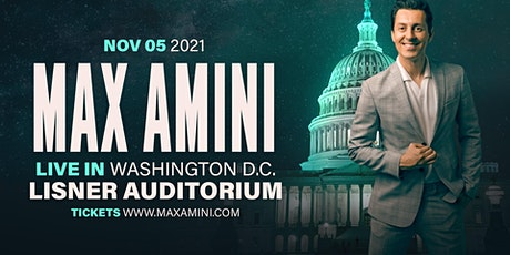 Max Amini Live in Washington DC - 2021 Tour tickets