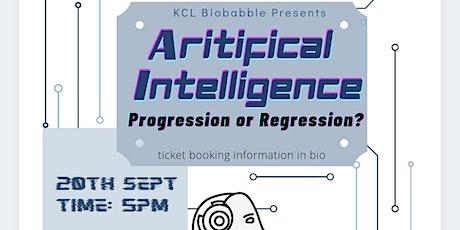 AI: Progression or Regression? biglietti