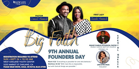 9th Annual Founder's Day tickets