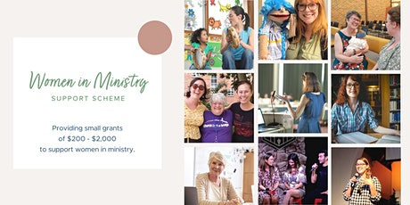 Copy of Women in Ministry Support Scheme: Information Session (online) tickets