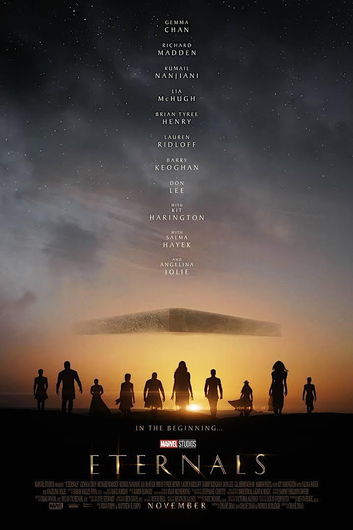 A Night at the Movies- 'Eternals' at New Farm Cinemas image