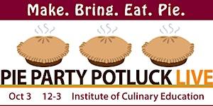 Pie Party Potluck LIVE! 2015