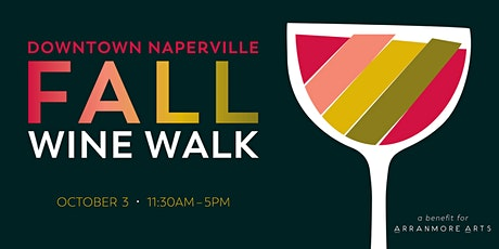 Fall Downtown Naperville Wine Walk 2021 tickets