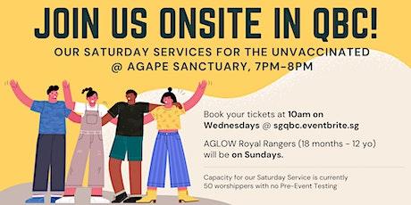 English Saturday Service (18 Sep) tickets