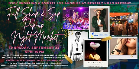 Fall Shop & Sip Pop-Up Night Market tickets