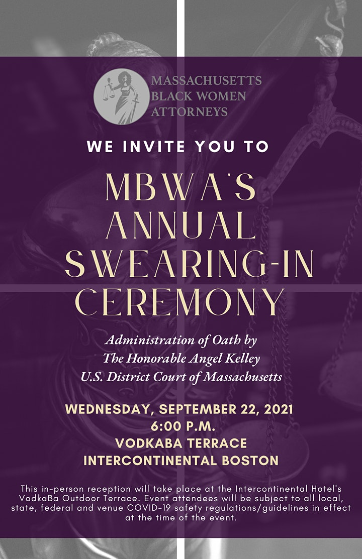 MBWA's Annual Swearing-In Ceremony image