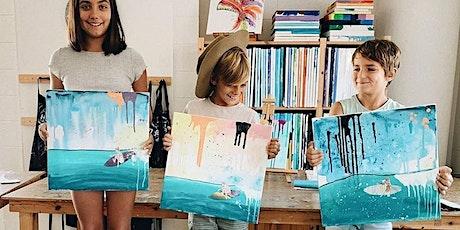 School Holiday Kids & Adults Surf Art with Amanda Davidson tickets