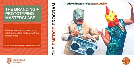 Masterclass: Branding and prototyping | The EMERGE Program tickets