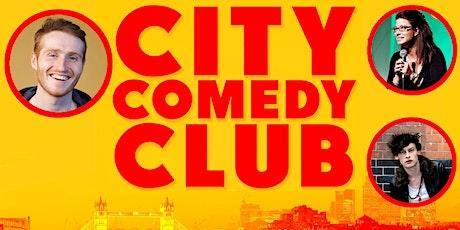 CITY COMEDY CLUB: 02 OCT tickets
