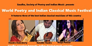 World Poetry and Indian Classical Music Festival at...