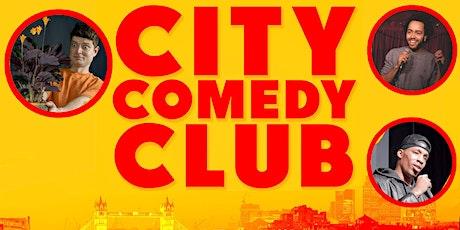 CITY COMEDY CLUB: 07 OCT tickets