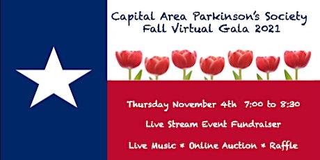Capital Area Parkinson's Society Fall Virtual Gala 2021 tickets