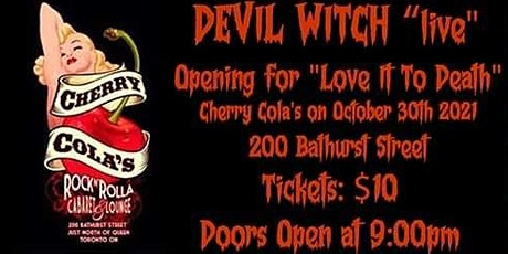 Devils Night @ Cherry Colas tickets