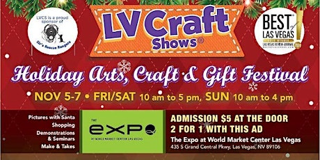 12th Annual Holiday Arts, Craft & Gift Festival tickets