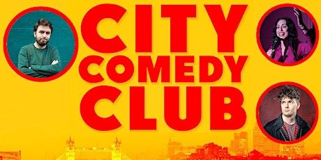 CITY COMEDY CLUB: 08 OCT tickets