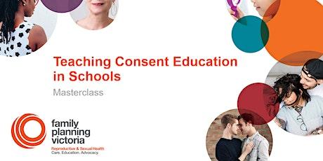 FPV Masterclass. Teaching Consent Education in Schools. tickets