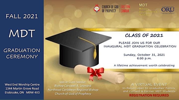 MDT Inaugural Graduation Ceremony image