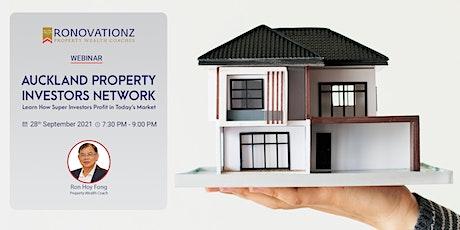 Auckland Property Investors Network - Webinar tickets