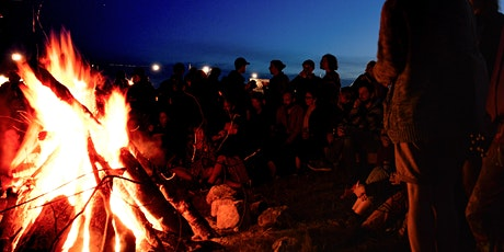 Hunters full moon fire ceremony on the beach tickets